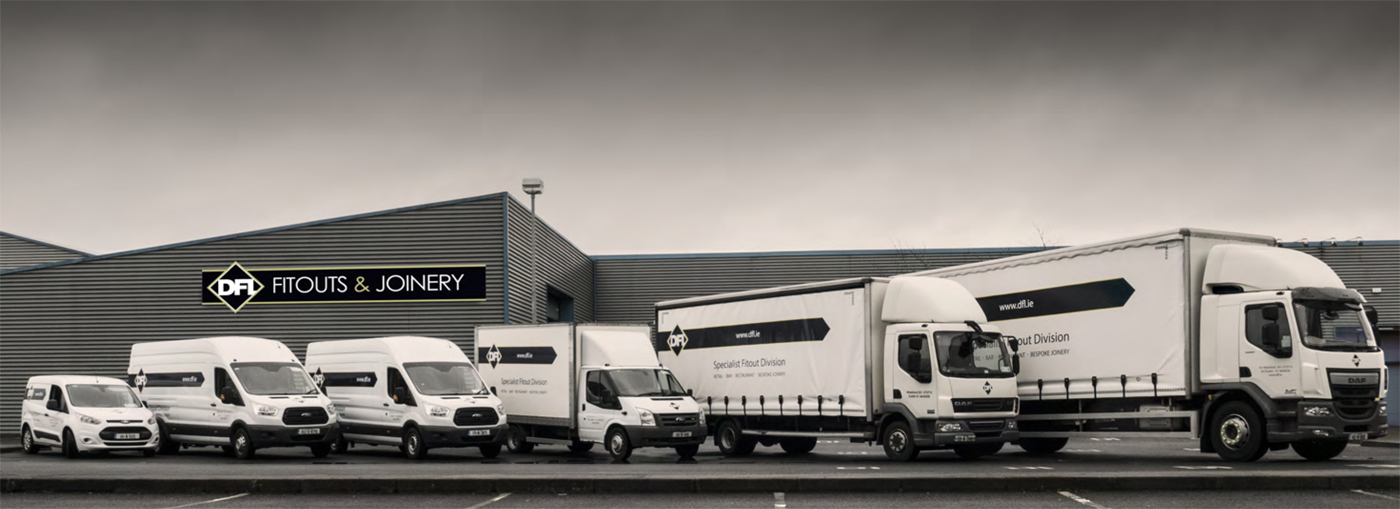 Joinery Facility and delivery vans