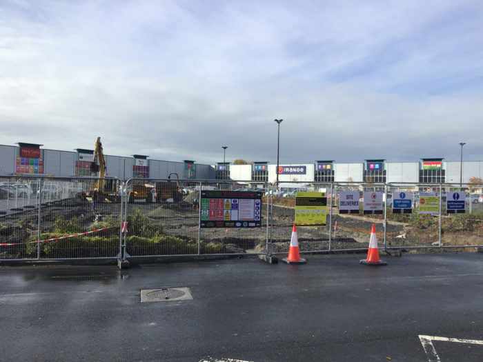 new costa construction site